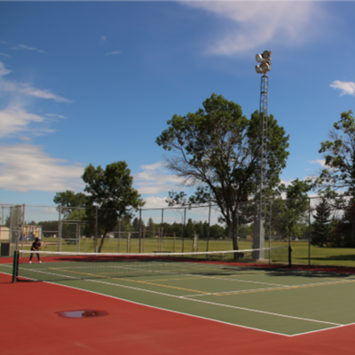 Weyburn Tennis Courts
