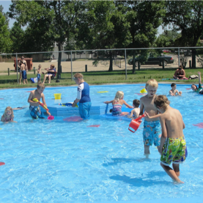 Young Fellows Paddling Pool - Weyburn, SK