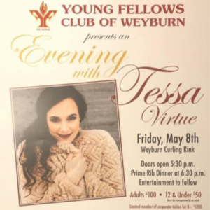 An Evening with Tessa Virtue - Weyburn, SK
